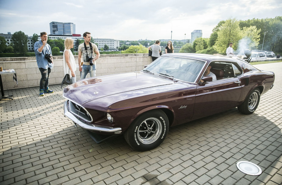 """Ford Mustang"" pristatymas"
