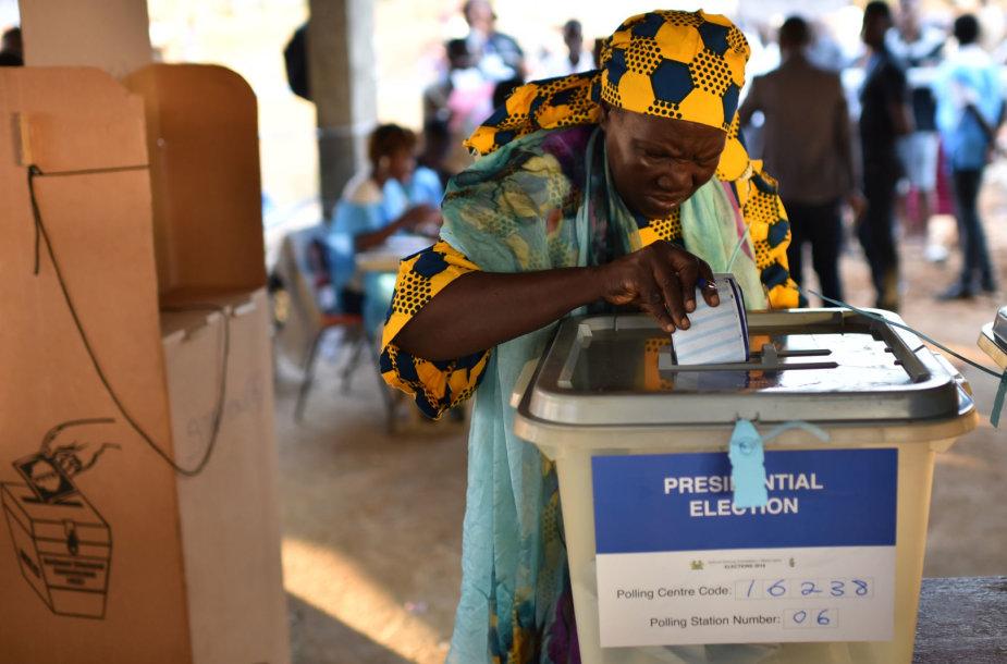 Rinkimai Siera Leonėje