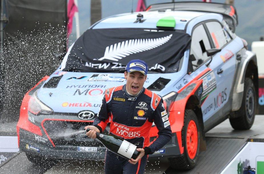 WRC ralis Argentinoje