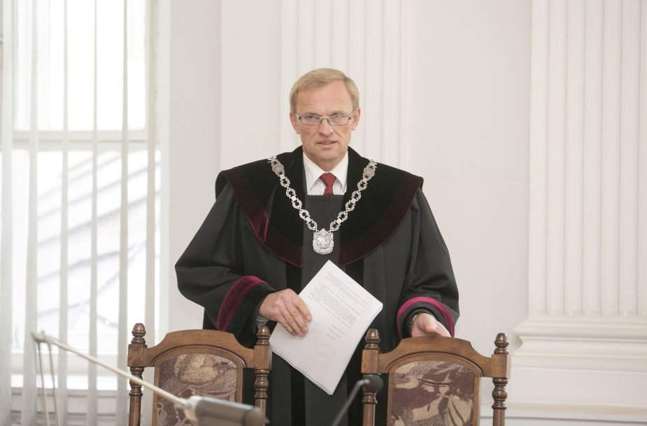 Teisėjas Algimantas Valantinas