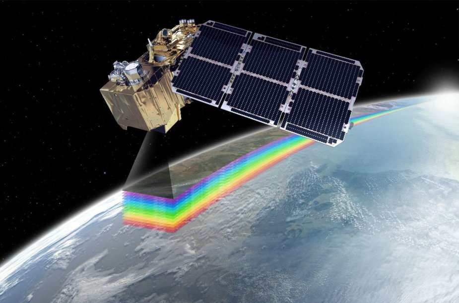 """Vienas iš """"Sentinel"""" misijos palydovų"""