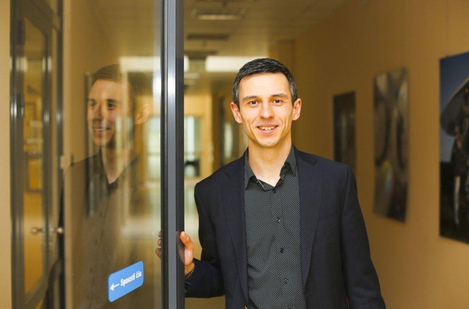 Lietuvos jaunųjų socialdemokratų sąjungos pirmininkas Ramūnas Burokas