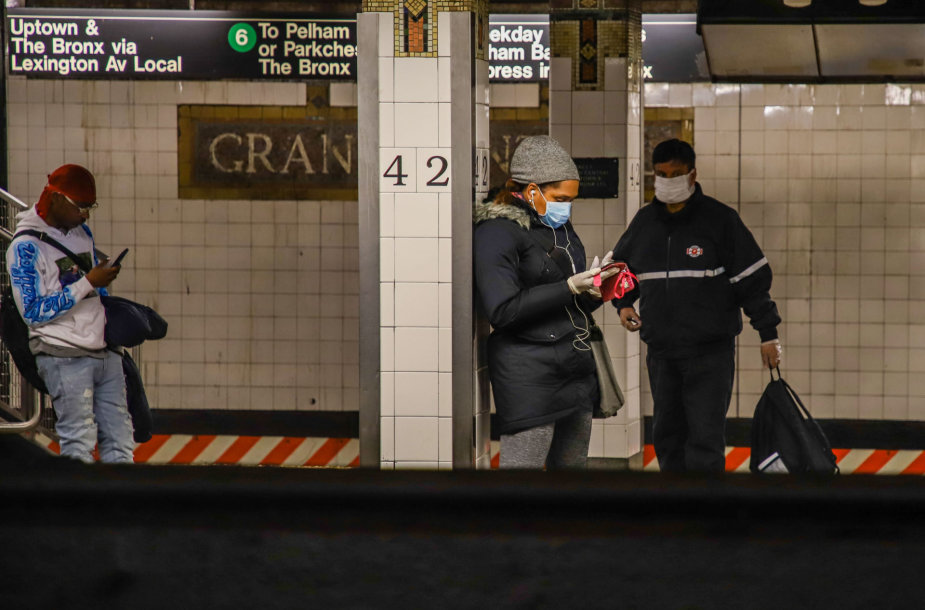 Ištuštėjęs Niujorko metro