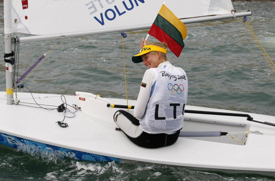 Gintarė Volungevičiūtė-Scheidt olimpinėse žaidynėse Pekine iškovojo sidabrą.