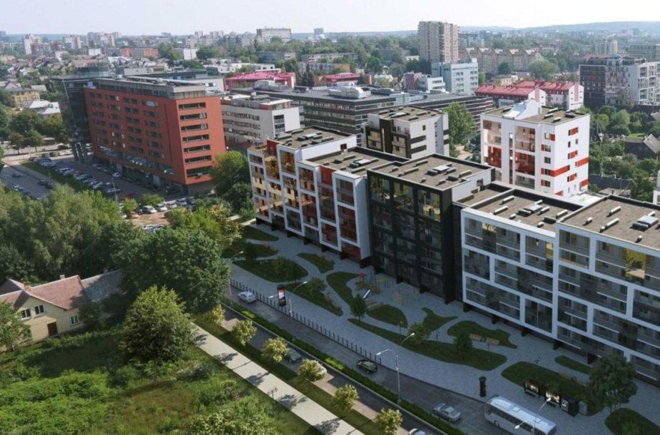 Šnipiškių Kernavės gatvės laukia didžiulė rekonstrukcija