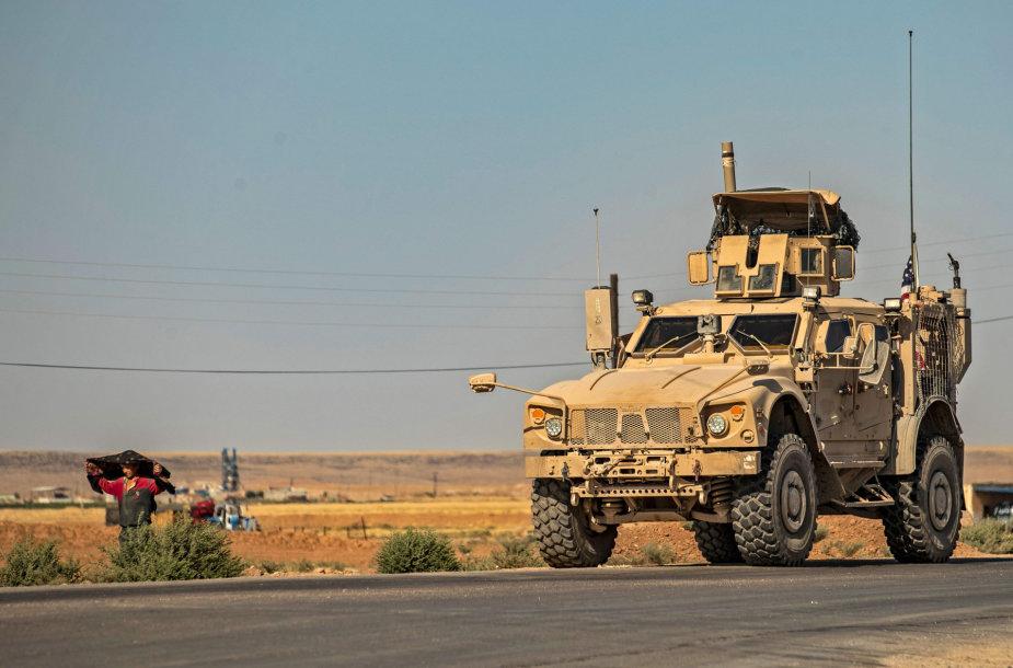 JAV patrulis Sirijoje