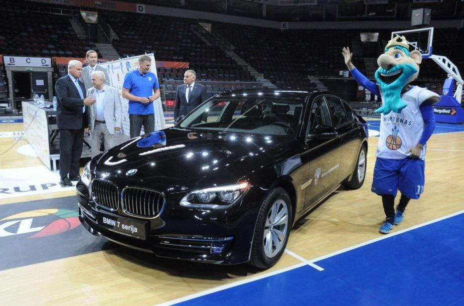 """Klaipėdos klubas negali susigrąžinti ne tik BMW, nei komandos simbolio """"Neptūno""""."""