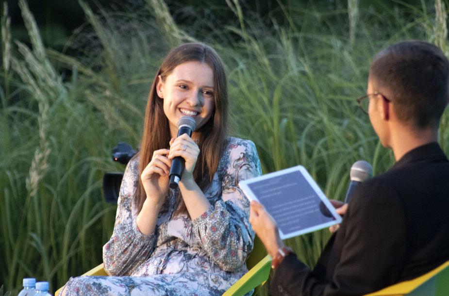 Ieva Zasimauskaitė ir Dalius Stankevičius