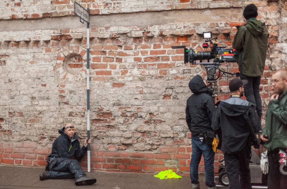 Vilnius virs filmavimo aikšele