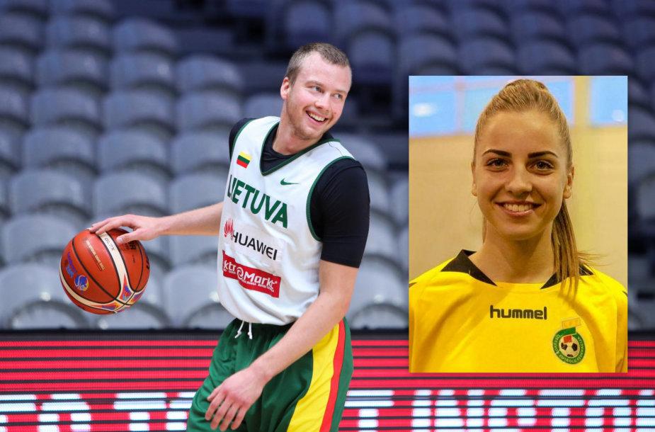 Lukas Lekavičius ir Ugnė Šmitaitė