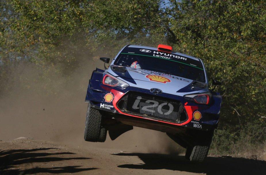 Argentinos WRC etapas