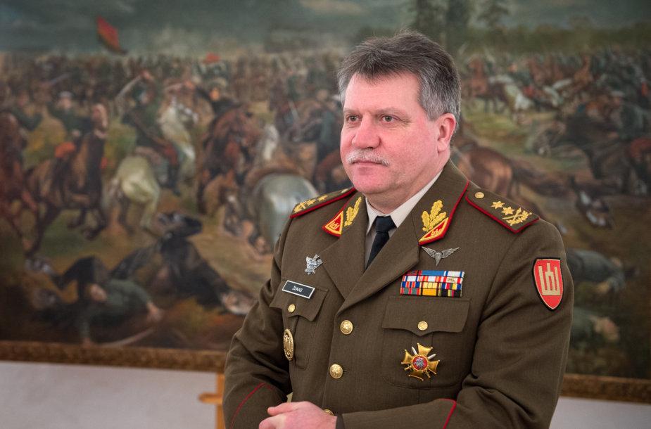 Lietuvos kariuomenės vadas generolas majoras Jonas Vytautas Žukas