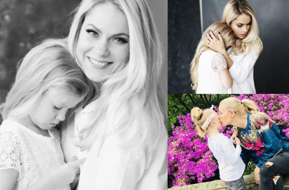 Nijolė Pareigytė-Rukaitienė su dukra