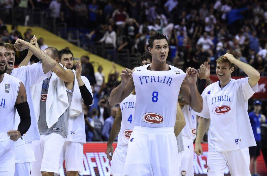 Italijos krepšininkai