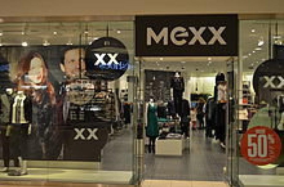 Mexx parduotuvė