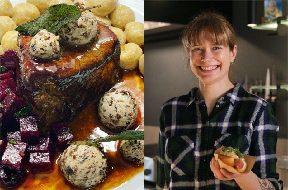 Tinklaraštininkė Laura ir jos ruoštas sviestas su džiovintais grybais