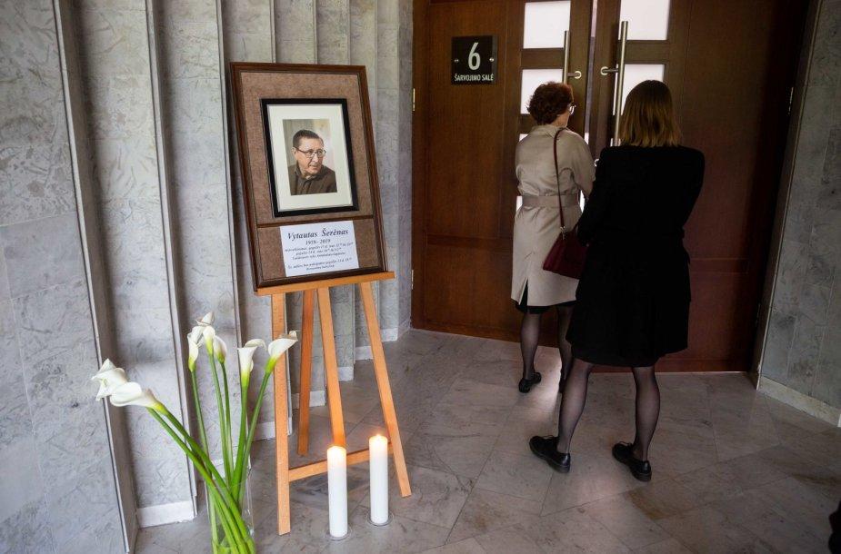 Atsisveikinimas su Vytautu Šerėnu
