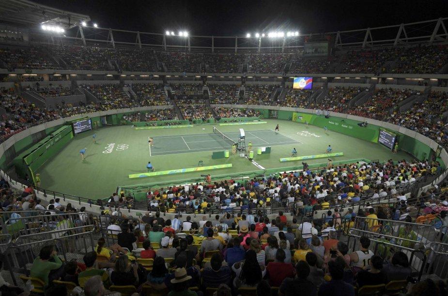 Serena Williams olimpinio teniso turnyro aštuntfinalyje krito prieš Eliną Svitoliną