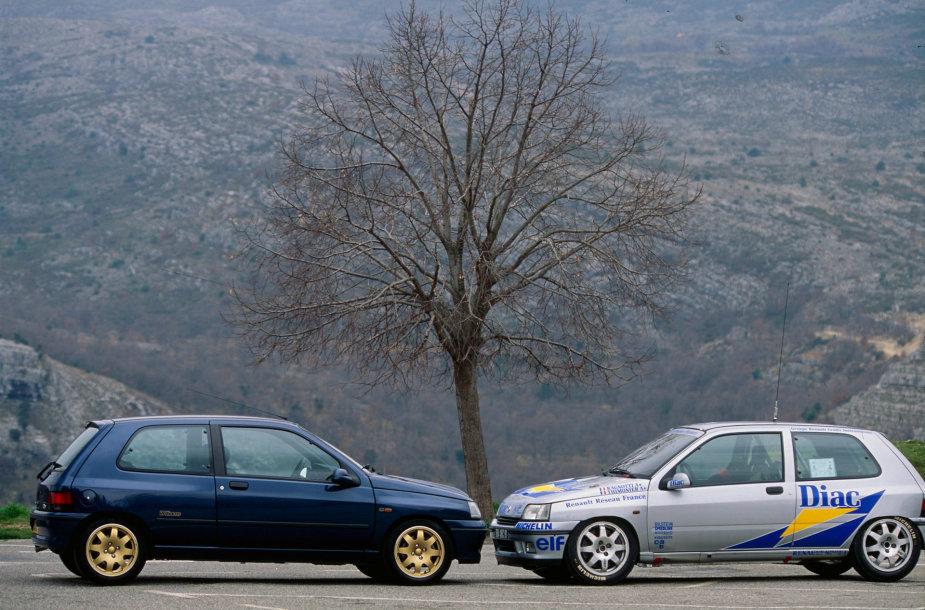 """Nuo """"Renault Clio"""" pristatymo praėjo 30 metų"""
