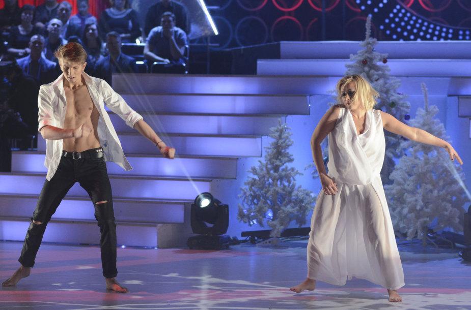 Sandra Žutautienė ir Ernestas Monginas