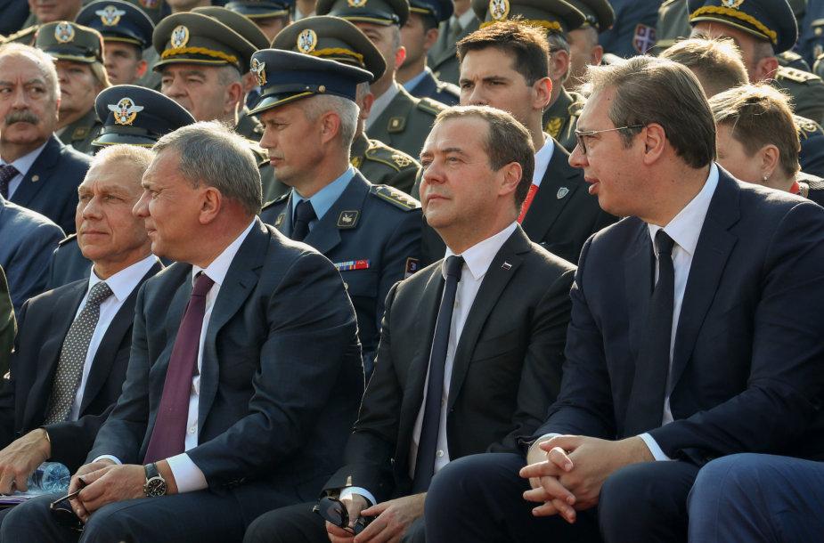 Dmitrijus Medvedevas Serbijoje