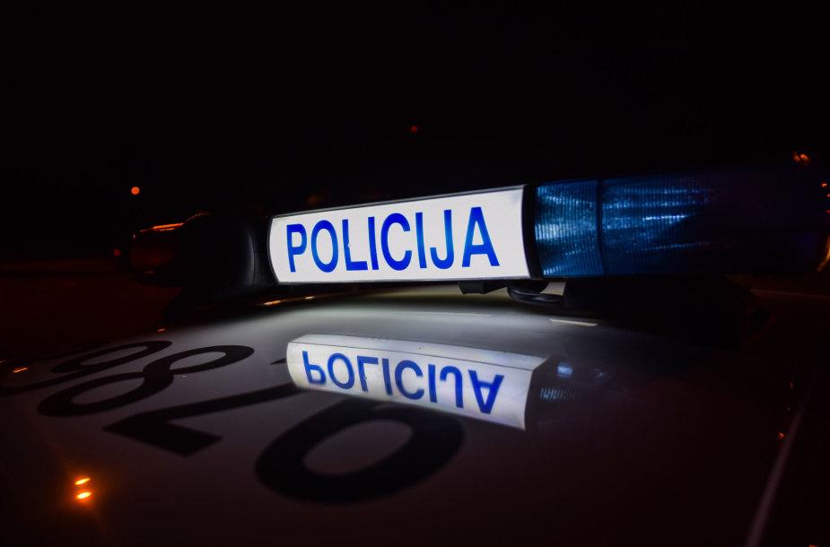 Lietuvos kelių policijos tarnybos reido akimirka
