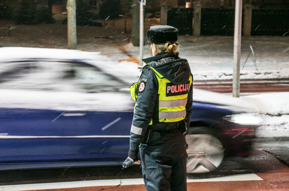 Policijos reidas Vilniuje