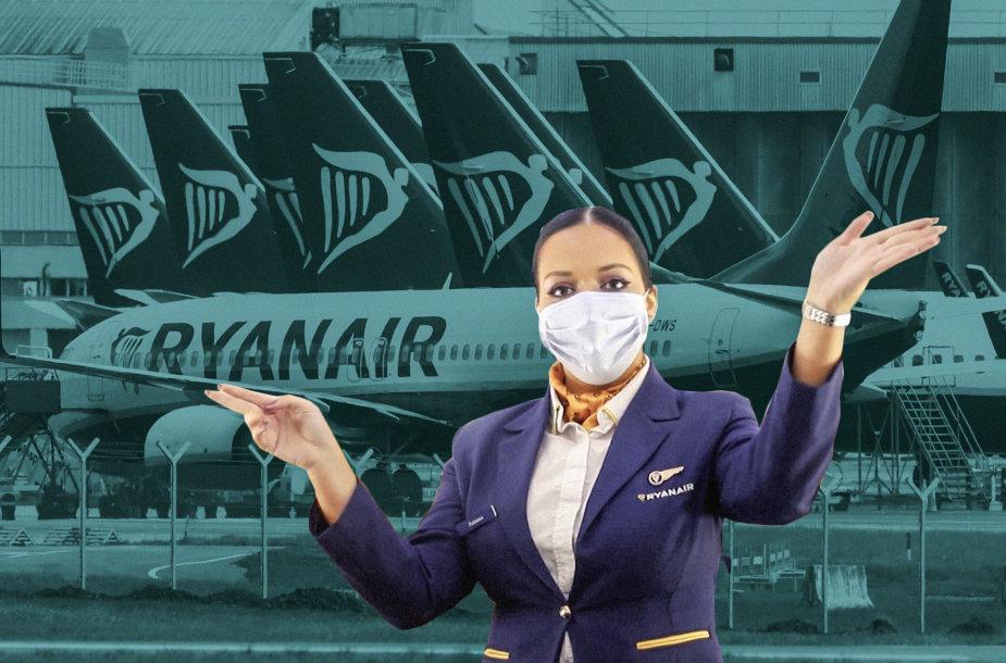 """""""Ryanair"""" atleidžia darbuotojus"""