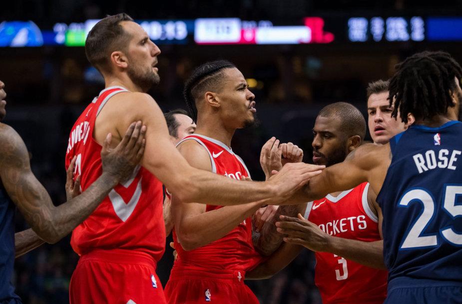 """Minnesota Timberwolves"" – ""Houston Rockets"""