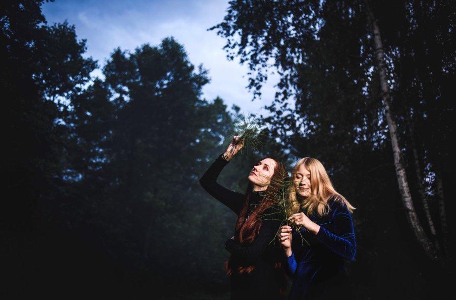 Rūta Marcinkevičė ir Kristina Pašukevičiūtė
