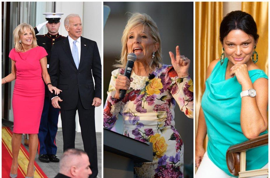 Jurga Jurkevičienė, Jill Biden