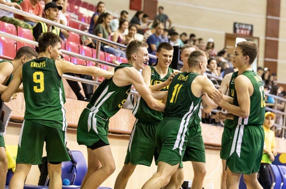 Lietuvos jaunių iki 16 metų krepšinio rinktinė