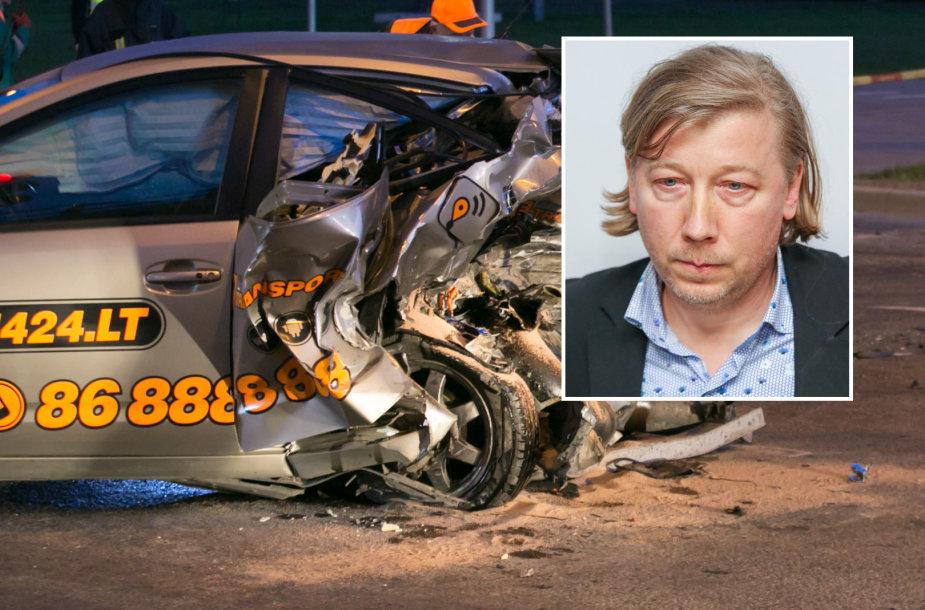 Į teismą atvesdintas tragiškos avarijos kaltininkas