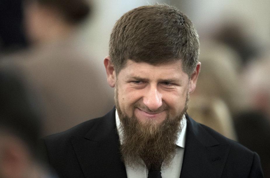 Ramzanas Kadyrovas.