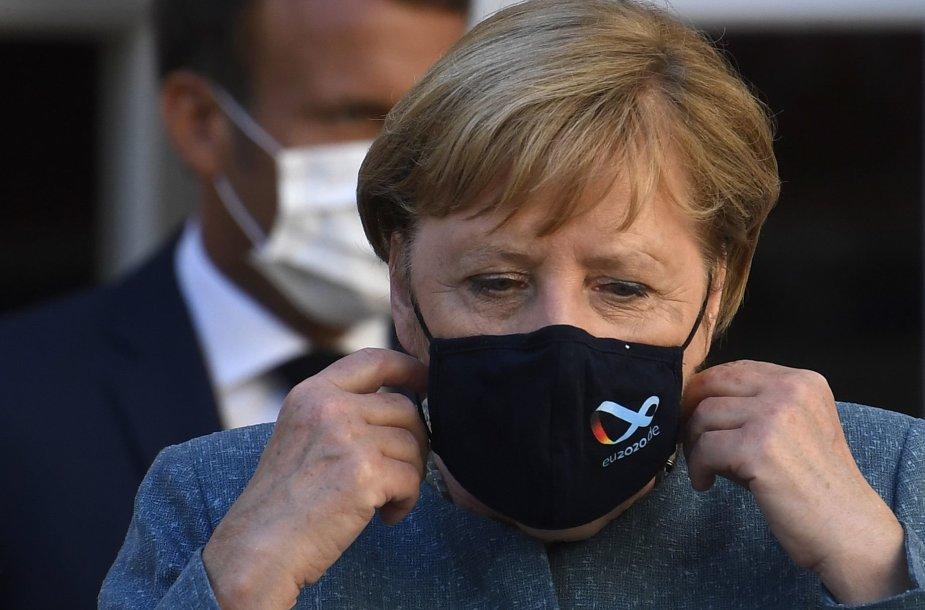Angela Merkel su kauke