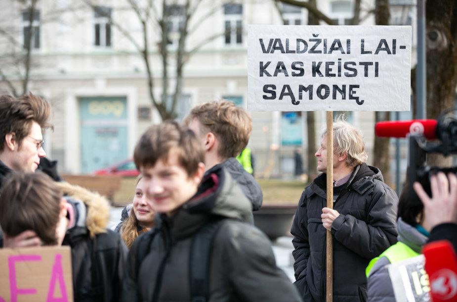 Pasaulinio jaunimo streikas dėl klimato kaitos