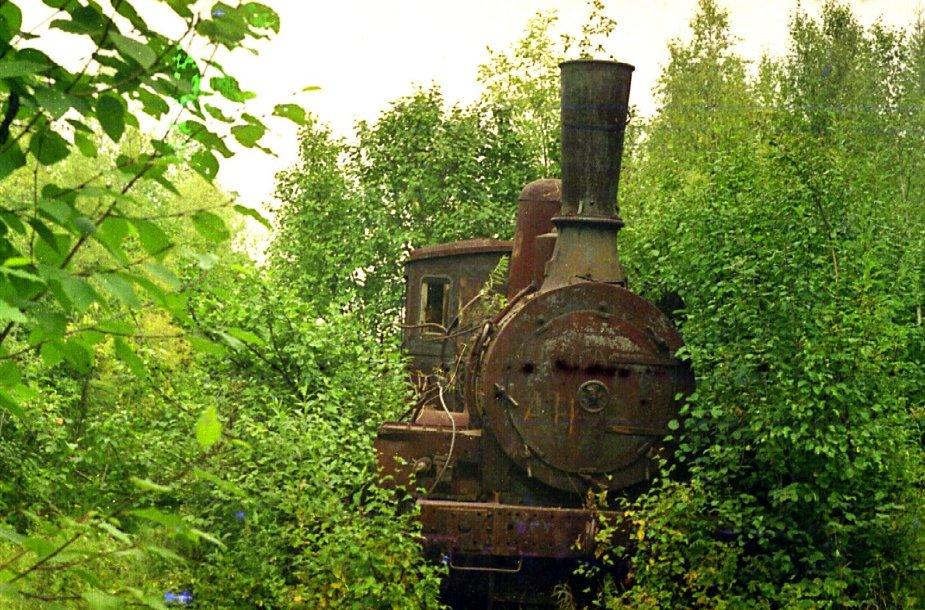 Jermakovo gyvenvietėje paliktas garvežys. 2009 metais jis buvo išgabentas į metalo laužą.