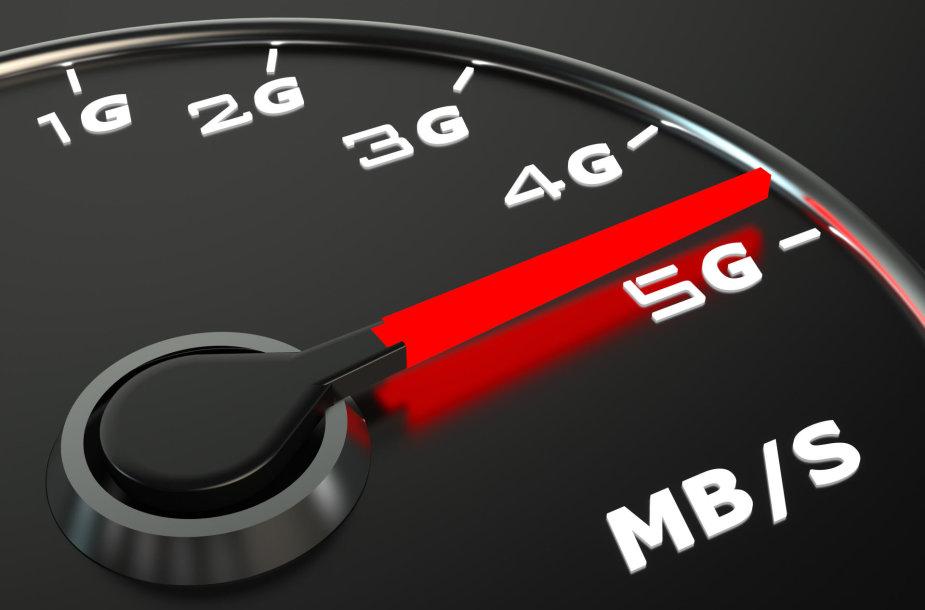 5G internetas