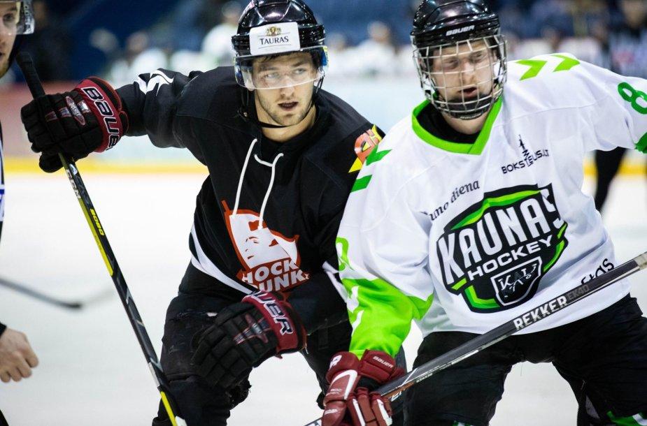 """""""Hockey Punks"""" prieš """"Kaunas Hockey"""""""
