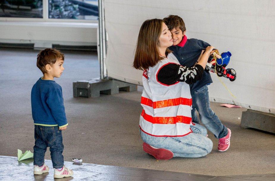 Graco pabėgėlių stovykla Austrijoje