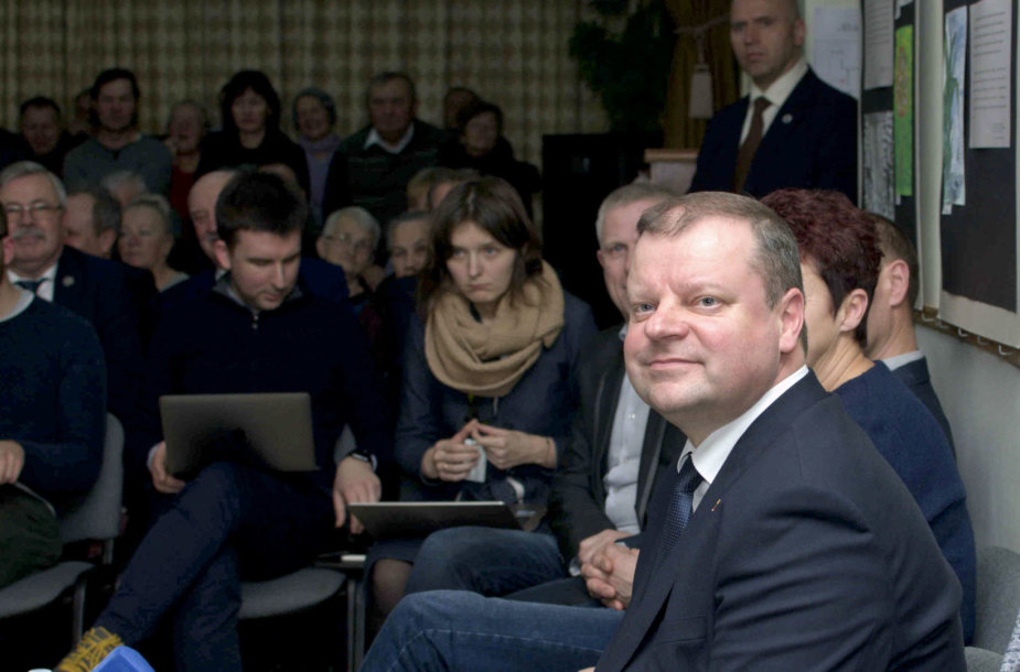 Premjeras Saulius Skvernelis pranešė dalyvausiantis prezidento rinkimuose