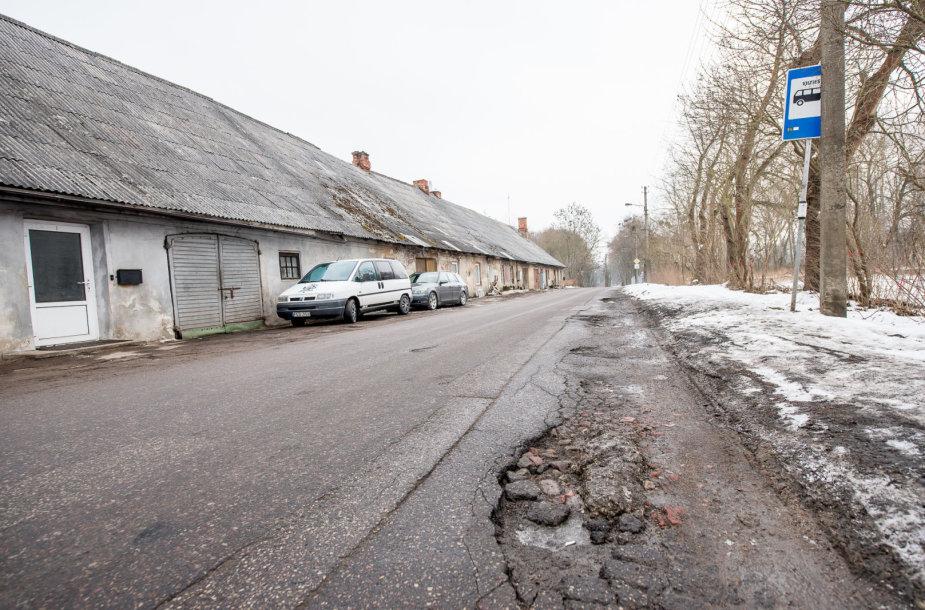 Kaunas pradeda gatvių tvarkymą