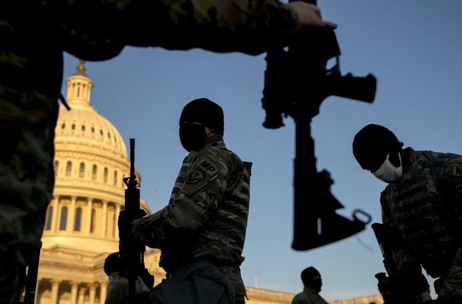 JAV Kapitolijuje dislokuota Nacionalinė gvardija