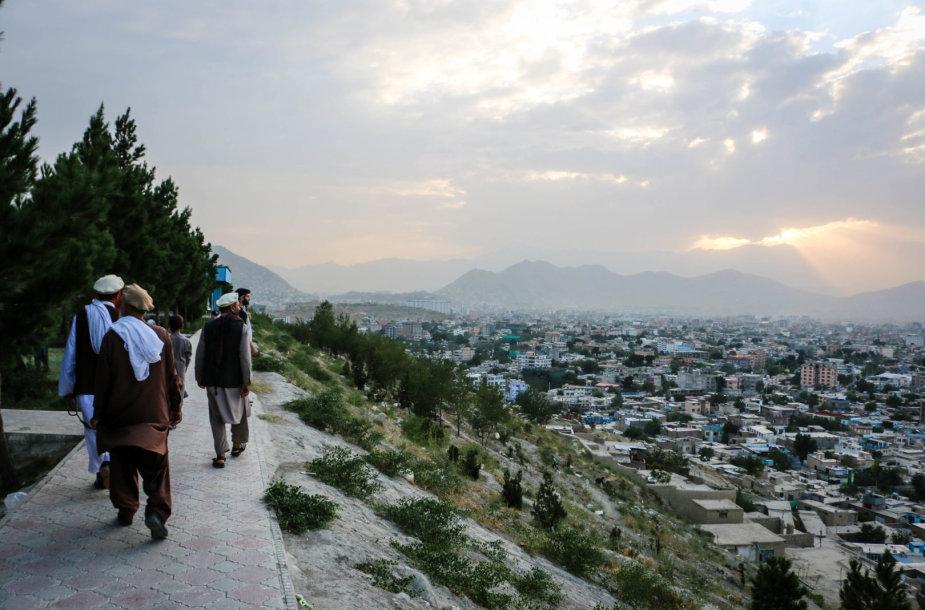 Vaizdas nuo Wazir Akbar Khano kalvos