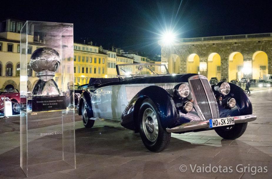Saulius Karosas laimėjo Didįjį prizą prestižinėje Florencijos istorinių automobilių parodoje
