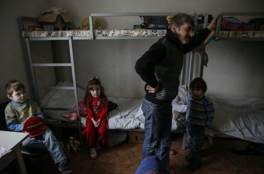 Rytų Ukrainos pabėgėliai