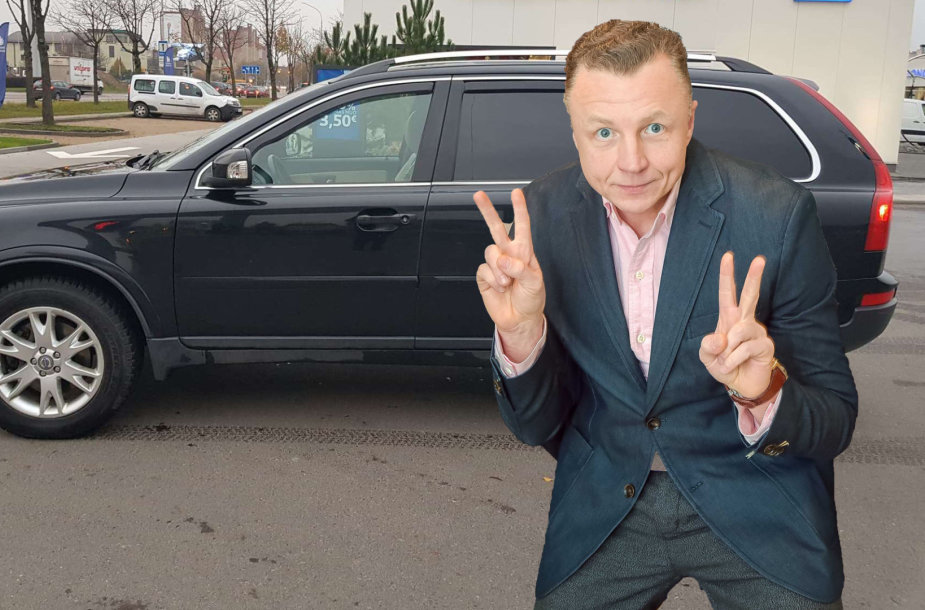 """Gedimino Juodeikos parduodamas visureigis """"Volvo XC90"""""""