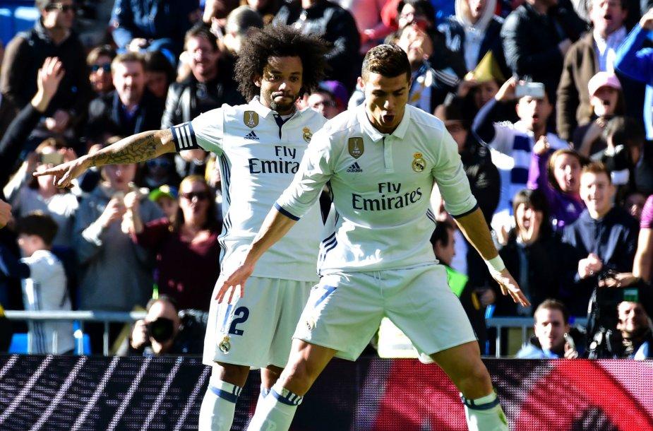 Cristiano Ronaldo ir Marcelo