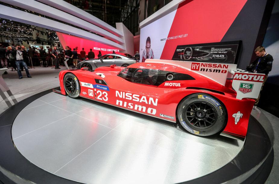 """Nissan GT-R LM NISMO"""