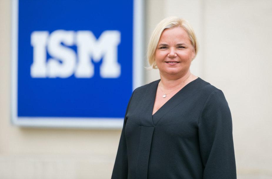 ISM Tarptautinės rinkodaros ir vadybos programos direktorė doc. dr. Lineta Ramonienė